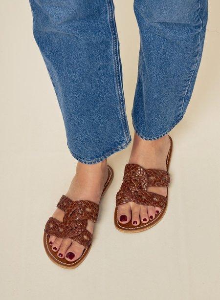 Diega Paris Sanso Sandals - Tan