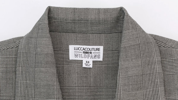 Lucca Couture x Wildfang The Hutton Double Breasted Blazer