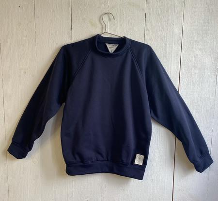 Conrado Fleeced Sweatshirt - Navy