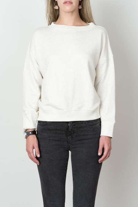 Hansel from Basel Portsmouth Sweatshirt In Ivory