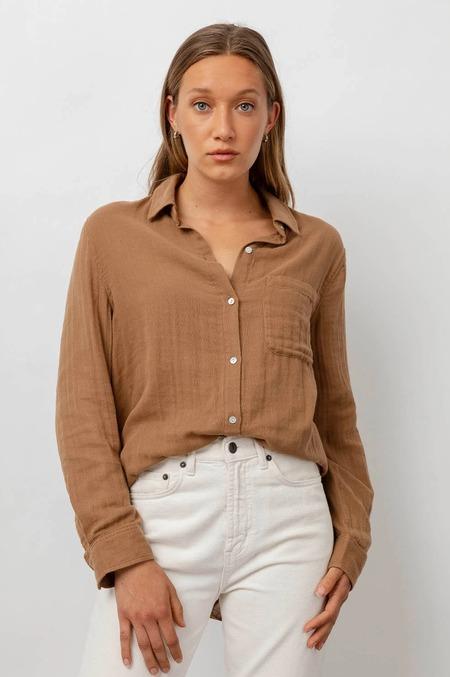 Rails Ellis Shirt - Toasted Coconut