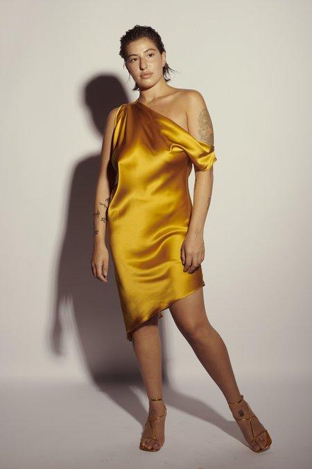 KES Venus Drop Shoulder Dress - Teal