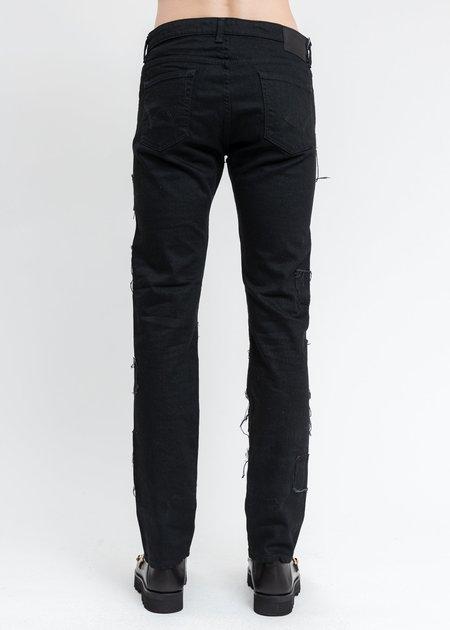 KIDILL × EDWIN Patch Slim Tapered Pants - Black