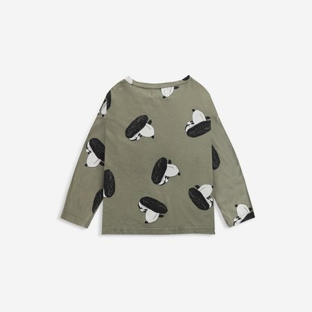 kids unisex Bobo Choses Doggie T-Shirt - Dark Green