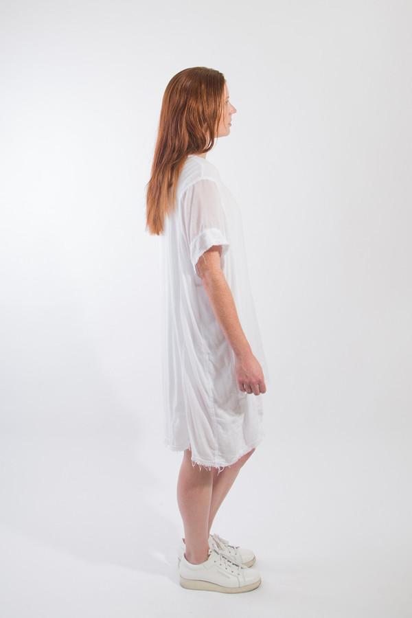 Black Crane Panel Dress