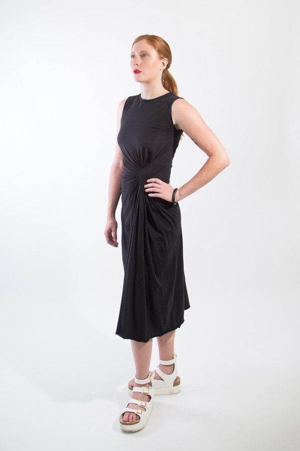 OAK Pulled Pleat Dress