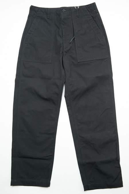 Engineered Garments Heavyweight Cotton Ripstop Fatigue Pant - Black