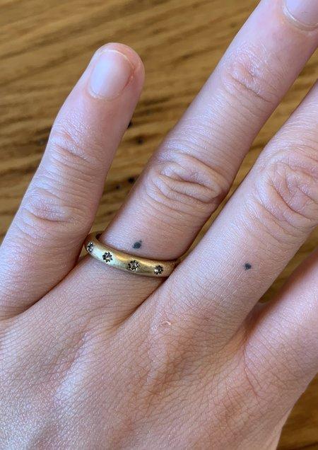 Half United Thin Band USA Ring