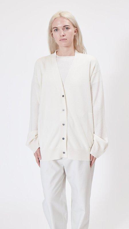 Sofie D'Hoore Motif Cashmere Cardigan - Off White