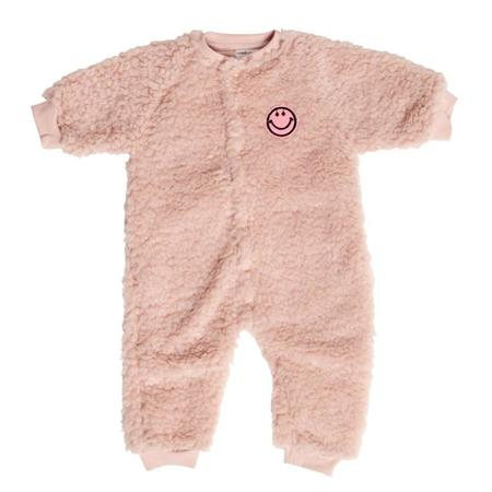 KIDS maed for soft baby playsuit - salmon