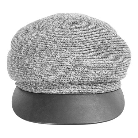 Y's Grey Wool Cap