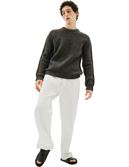 Maison Margiela Mixed Grey & Beige Sweater