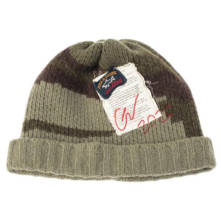 Greg Lauren Paul Shark Wool Camo Hat