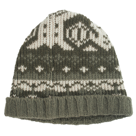 Greg Lauren Paul Shark Knitted Wool Hat