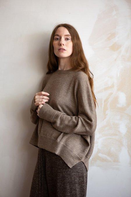Lauren Manoogian Fine Wide Crewneck - Wood
