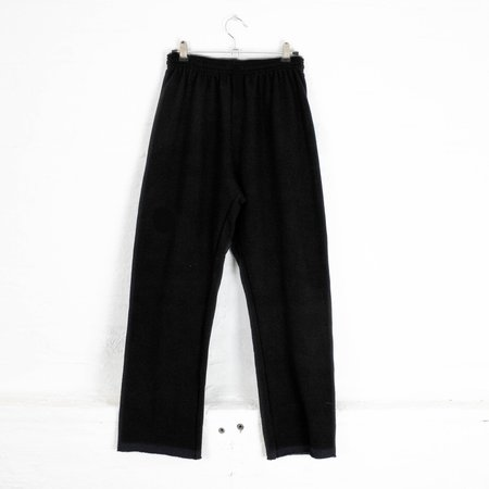 little high, little low LHLL cropped sweatpants - BLACK