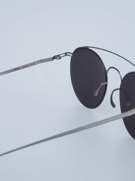 PRE-LOVED Maison Margiela X Mykita Round Flexible Sunglasses - Black/Silver