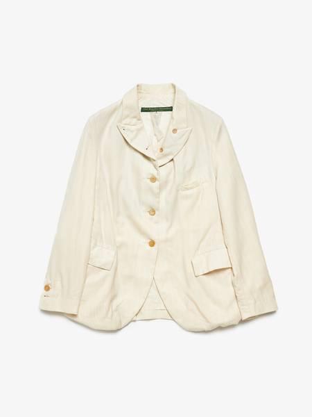 Pre-loved Paul Harnden Shoemakers Textured Cotton Jacket - Cream