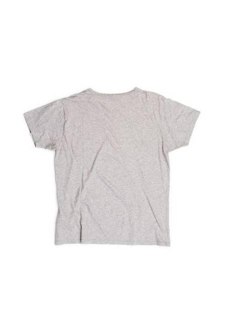 pre-loved Saint Laurent Paris Graphic Print Cotton T Shirt - gray