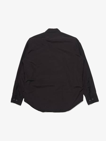 [Pre-Loved]Comme des Garcons Shirt Male Black Printed Cotton Shirt