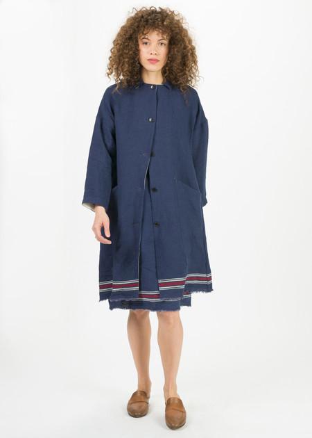 Yoshi Kondo Linen Kate Coat