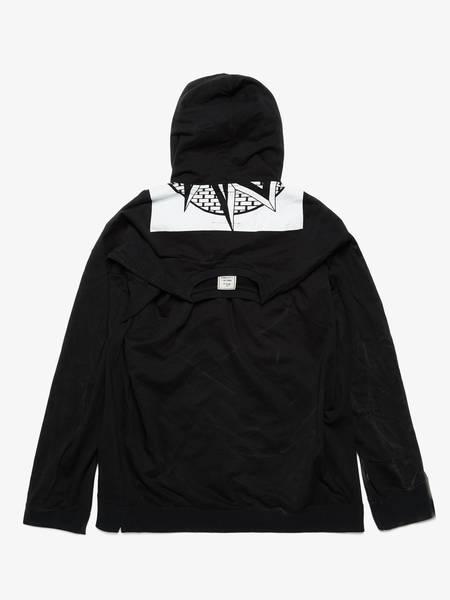 [Pre-Loved] Miharayasuhiro Male Black Cotton Long-sleeved Hoodie