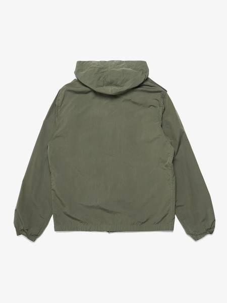 [Pre Loved] Saint Laurent Paris Patched Hooded Light Jacket - Khaki