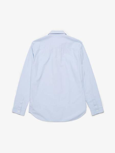 [Pre -Loved] Maison Margiela Striped Cotton Shirt - Blue