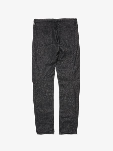 [Pre - Loved] Comme Des Garcons Homme Plus Male Glitter Wool Pants - Black