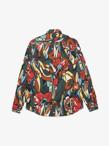 [Pre-Loved] Marni Flower Printed Cotton Shirt - Multicolour