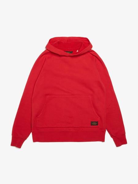 pre-loved Neighborhood Red Cotton Hoodie sweater - red