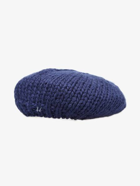 [Pre-Loved] Undercover Unisex Blue Wool Beret
