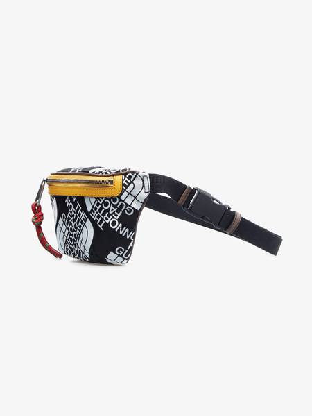[Pre-Loved] Gucci X The North Face Male Black Monogram Waist Bag