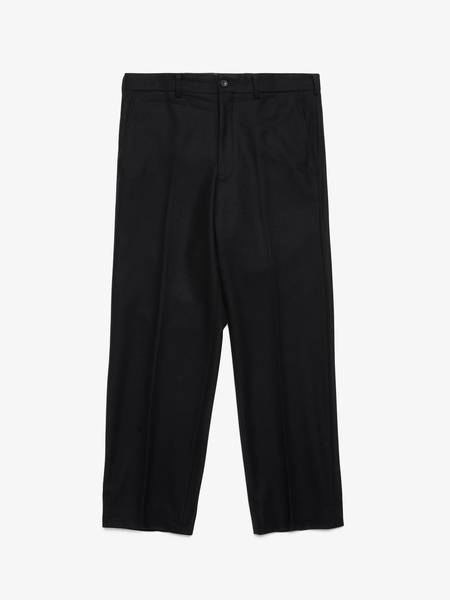 [Pre-Loved] Comme Des Garcons Homme Plus Male Black Wool Trousers