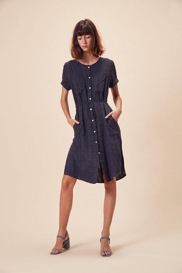 Stil. Amaya Dress in Navy Check