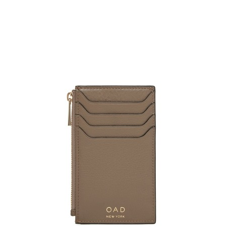 OAD Billy Zip Card Case - Porcini