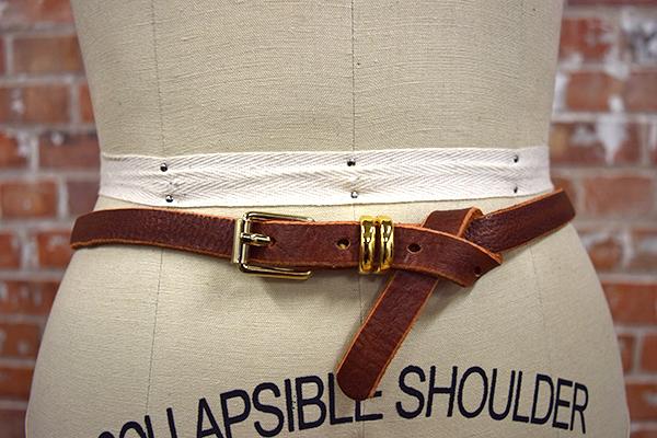 Brave Leather Dash Belt