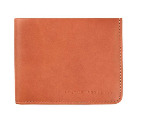 Status Anxiety Alfred Wallet Camel