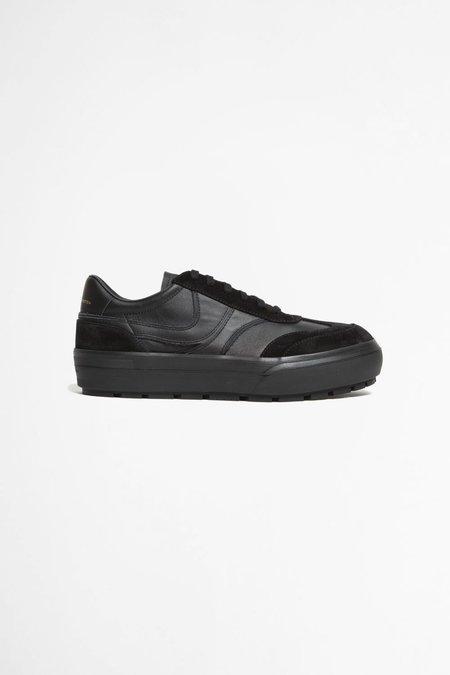 Dries Van Noten leather sneakers - Black