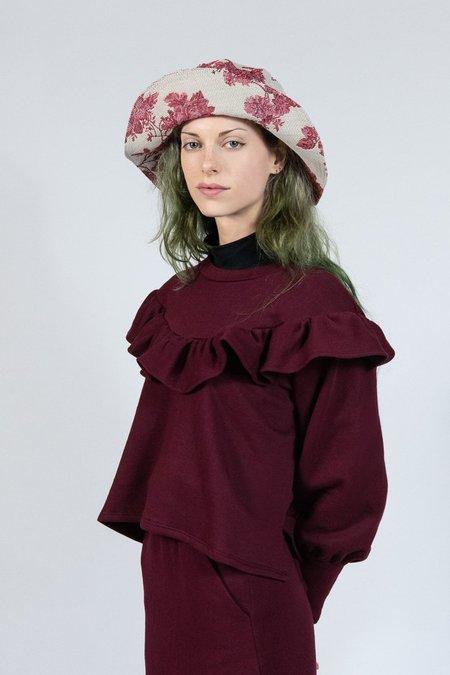 Rightful Owner Fleece Sweatshirt - Crimson