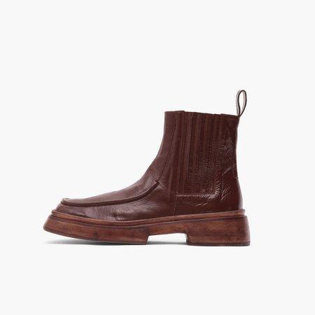 Rejina Pyo Leah Boot - Leather Liquid Rust