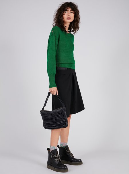 PETI Boutique A-line midi skirt