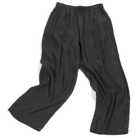 Evam Eva Cupro Easy Pants - Stone Gray