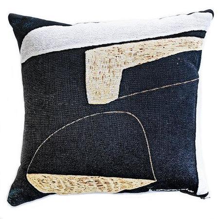K-Apostrophe Flint Throw Pillow