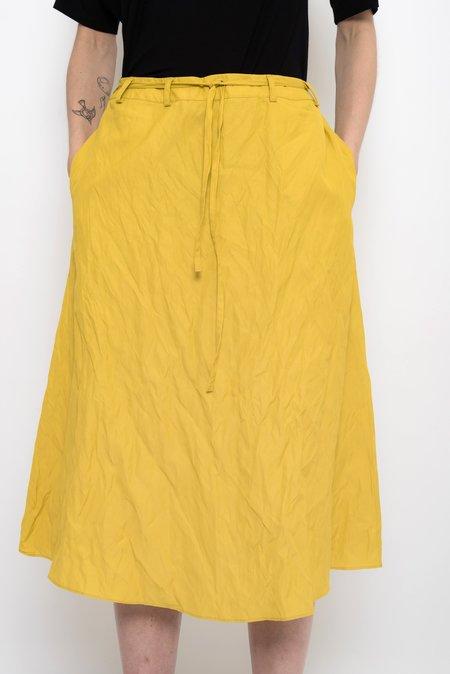 UMA Raquel Davidowicz Crumpled Midi Skirt With Strap - Manati