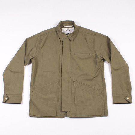 Rogue Territory Infantry Jacket - Olive Ripstop
