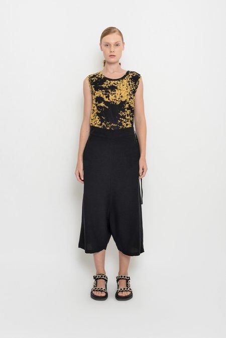 UMA Raquel Davidowicz Condor Wide Culottes With Geometric Print