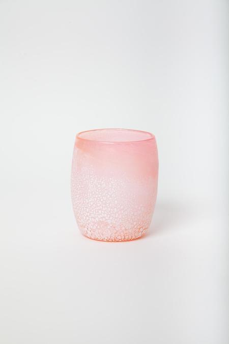 Rocket Glass Works Glass Candle Votive - Rose