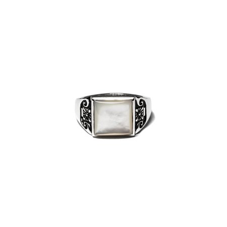 Maple Collegiate Ring - Blank Silver