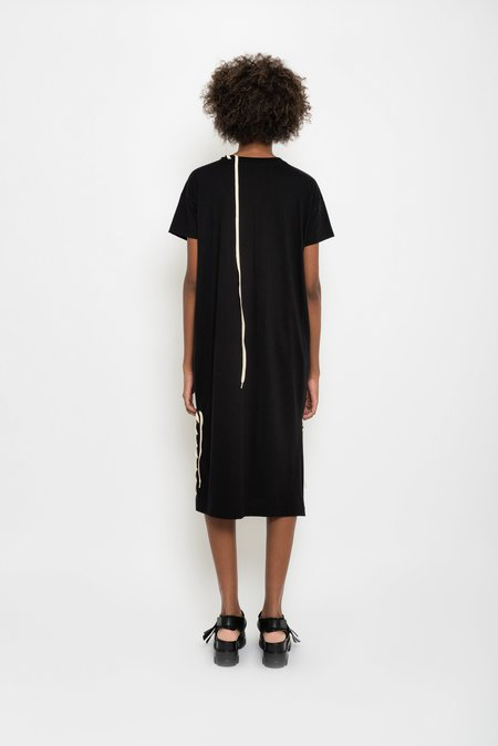 UMA Raquel Davidowicz Cotton Jersey Midi Dress - Black